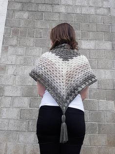 You might as well go to your local yarn store and buy a ton of yarn right now, because I can guarantee you will not be able to stop making these. For the longest time, crocheting triangles seemed i…