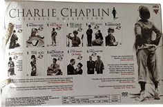 Charlie Chaplin 11 Best Movies DVD Box Set, 18.5 Hours of Viewing Time, Contains Cinematic Classics like: The Gold Rush, Modern Times, The Circus, The Great Dictator, City Lights, LimeLight, The Kid, A Woman of Paris, A King in New York, The Chaplin Revue, Monsieur Verdoux  http://www.videoonlinestore.com/charlie-chaplin-11-best-movies-dvd-box-set-18-5-hours-of-viewing-time-contains-cinematic-classics-like-the-gold-rush-modern-times-the-circus-the-great-dictator-city-lights-limelight..
