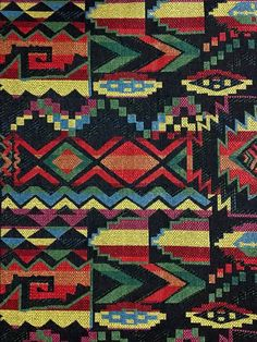 Thai Woven Fabric Tribal Fabric Cotton Fabric Ethnic by veradashop