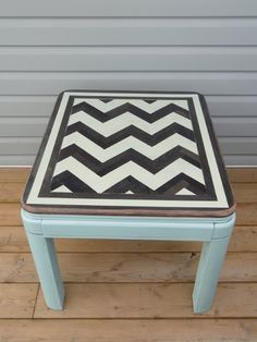 I just bought a coffee table exactly like this on craigslist for 15.00 project time!!!!