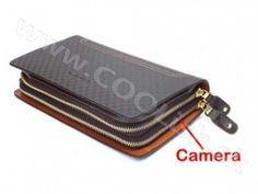 Špionážní kamera Příruční taška 1280x720p Gadget Gifts, Zip Around Wallet, Gadgets, Gadget