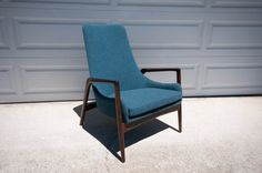 Delicious Mid Century Ib Kofod Larsen Chair for Selig