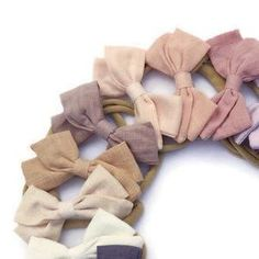 Braided Baby Headband Sailor Knot Bow Knotted Infant   Etsy Newborn Baby Girl Headbands, Baby Girl Hair Bows, Cute Headbands, Baby Bows, Fall Baby, Baby Shower Gifts, Sailor Knot, Infant, Top Knot