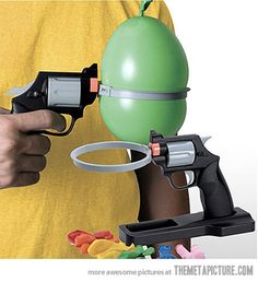 Water Balloon Russian Roulette. I would buy this a hundred times over