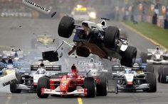 Formula One racing   Formula 1 crash