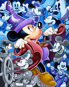 """""""Celebrate the Mouse"""" by Tim Rogerson"""
