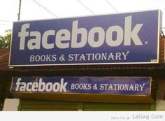 Facebook Book Stationery