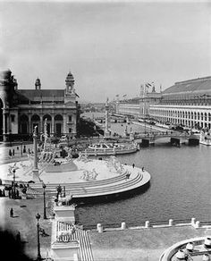 Picture of The Columbia Fountain in the 1893 World's Fair 1893 Chicago Columbian Exposition World's Fair Photos (c) 2013 David Phillips. Photographs are available for purchase - call or email to inquire about pricing.