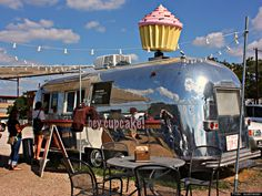 Hey Cupcake!: Airstreams also make perfect food trucks and everyone loves a food truck.