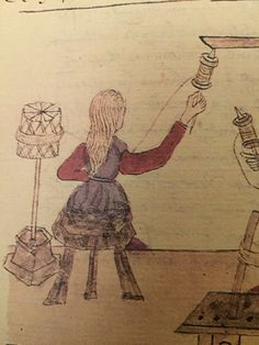 Detail page 31 Firenze, 15th Century, Farming, Spinning, Weaving, Geek Stuff, Textiles, Tools, People