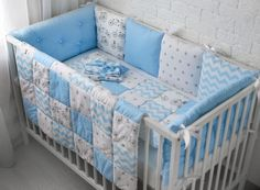 Baby Bedding Sets, Cot Bedding, Baby Pillows, Diy Baby Gifts, Baby Sewing Projects, Baby Boy Rooms, Baby Room Decor, Baby Quilts, Toddler Bed