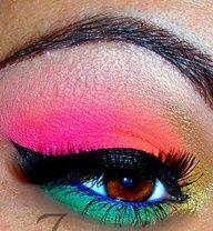 rave makeup