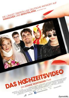 """Hauptplakat zu """"Das Hochzeitsvideo"""""""