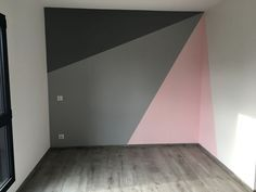 Child bedroom 2 ZOLPAN color and parquet ALSAPAN # children's room # furniture ideas # m . Bedroom Wall, Girls Bedroom, Bedroom Decor, Bedrooms, Little Girl Rooms, Room Paint, New Room, Home Decor, Wall Ideas