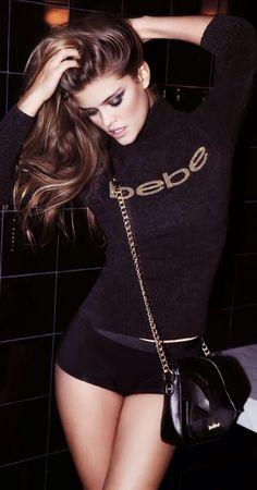 Nina Agdal for BeBe Black Friday 2013