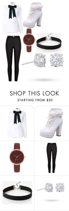 """I Wanna Go"" by gineskaplaza on Polyvore featuring moda, Dolce&Gabbana, Nine West, River Island, Express y Masquerade"