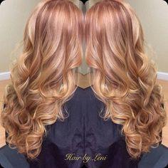auburn blonde, holy crap what an amazing colour