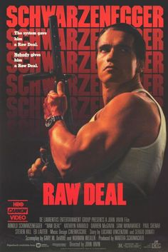 Raw Deal 11x17 Movie Poster (1986)