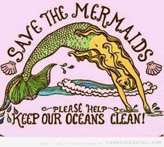 Cartel Save the mermaids