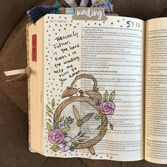 """""""Two Days"""" Devotion & Bible Journaling Entry from Creative Faith & Co."""
