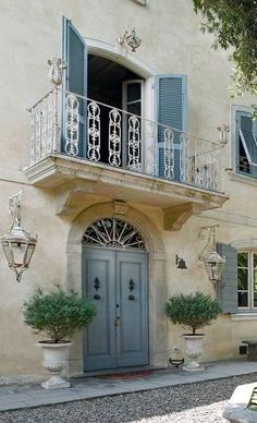 French Cottage, French Country House, French Country Decorating, French Style Homes, Country Style Homes, Casas Country, French Provincial Home, French Exterior, Houses In France