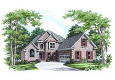 Braswell - Home Plans and House Plans by Frank Betz Associates