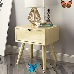 Jia He Nightstand Bedside Table - Modern Solid Wood Bedside Table Bedside Cabinet Creative Bedroom Lockers Chest of Drawers Storage Cabinets Furniture @@ (Color : 3#)<br> Furniture, Storage Cabinets, Bedside Cabinet, Cabinet Furniture, Solid Wood Cabinets, Solid Wood Bedside, Creative Bedroom, Colorful Furniture, Solid Wood Bedside Tables