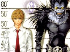 Light and Ryuk Death Note