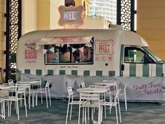 Meet #MELT . Our frozen yoghurt van in front of #JAOceanViewHotel serves delicious & refreshing cups of #FroYo . Grab yours now! #TheWalkJBR