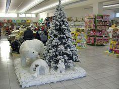 Allestimento Natale - Punto Vendita #IoBimboSardegna #Oristano #Natale #2012 #Orsi #Neve #AlberoNatale