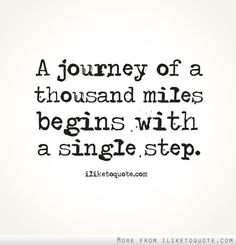 A journey of a thousand miles begins with a single step... Take the chance with AIESEC and go abroad