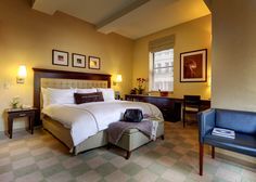 Astronomy 500.006 - Junior Suite with One King Bed and sitting area at the Library Hotel, New York City. #LibraryHotel