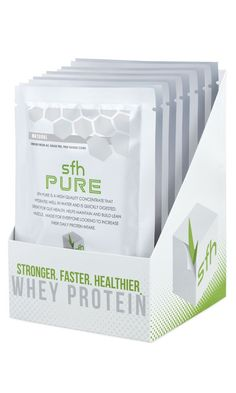SFH Pure Whey Protein - Travel Size Whey Protein Powder Packets