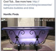 My girl would love this tub