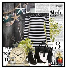 """""""SHEIN #8"""" by amelaa-16 ❤ liked on Polyvore featuring Walls Need Love, Nearly Natural, REGENCY, Marc Jacobs, Tommy Hilfiger, Gee Beauty and Monsoon"""