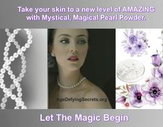 Pearl Powder has a time honored reputation that surpasses all other health and beauty Products. Pearl has a multitude of anti aging properties that will keep you young and healthy throughout your aging years. Pearl dramatically reverses the aging process; it renders Age Defenseless. Beauty Secrets, Beauty Products, Aging Process, Anti Aging, Health And Beauty, Powder, Pearls, Amazing, Age