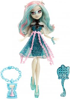 Haunted Exclusive: Rochelle GoyleSpring 2015 - Exclusive to WalmartNotes:Rochelle's inclusion in Haunted was first confirmed when Zazzle posted official artwork of her for use on their Monster High page.The first photo of her in package surfaced in November, and she was first found in stores in December (internationally), and in January (Canada).
