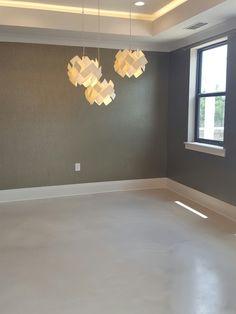 Elite Crete Charcoal Pearl Epoxy flooring installed by Ekhaya Designs