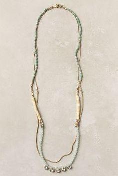 Celadon Shapes Necklace