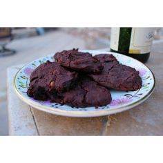 Coming soon to a kitchen near you: A healthy Flourless Peanut Butter Chocolate Chocolate Chunk  recipe. Can anybody guess the secret ingredient? Hint: 1 serving of this is about 15 grams of fiber (over half of the Daily Value and the equivalent of 2 oz meat) and 15 grams protein (nearly 1/3 the Daily Value)  #pacificmerchants #PMTC #recipetesting #recipe #cookies #chocolatecookies #healthy #goodeats #simplepleasures #dessert #vegan #vegetarian #chefsofinstagram #peanutbutter