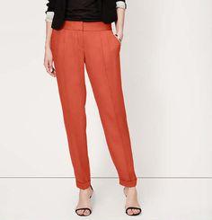 10 8 Ann Taylor LOFT Autumn Floral Stretch Twill Skinny Pants in Marisa Fit 4