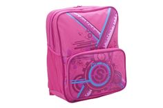 Link Square Backpack Pink 19782