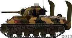 M4A3 Sherman late iwoJima
