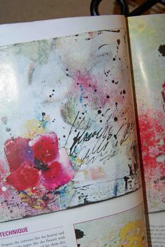 Mixed Media art canvas and journals feature article From My Heart to Yours Pink Soul Studios
