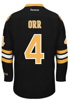 Boston Bruins VINTAGE Bobby ORR  4  A  Official Third Reebok Premier  Replica Adu CoolHockey. Nhl Hockey JerseysBobby ... d598ef7d9