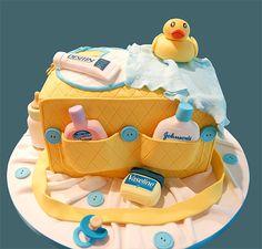 cute baby shower cake
