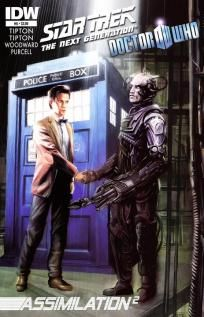 Star Trek - The Next Generation / Doctor Who - Assimilation2 #6 ---> shipping is $0.01 !!!