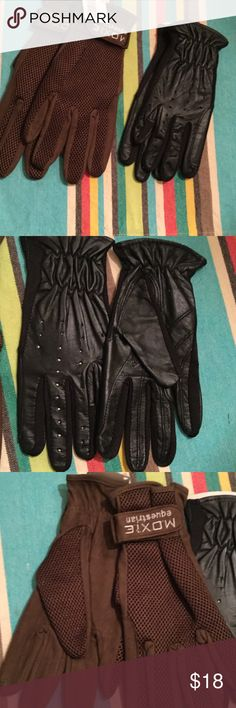 Riding gloves Equestrian riding gloves. Listing for one pair only moxie Accessories Gloves & Mittens