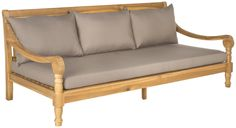 Cheval Daybed with Cushions