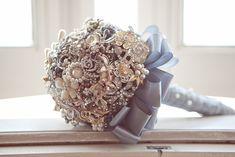 Bouquet de broches_detalhe.  #colherdechanoivas